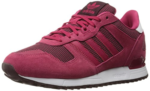 Adidas Originals Women's ZX 700 W Fashion Sneaker, Unity Pink F16/Unity Pink F16/Light Maroon, 7 M US