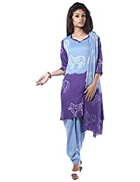 NITARA Women's Cotton Stitched Salwar Suit Sets - B01AJK777O