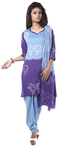 NITARA Women's Cotton Stitched Salwar Suit Sets - B01AJK777O