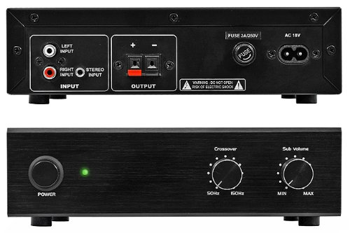 Osd Audio Smp60 Compact 100-Watt Subwoofer Amplifier With High-Cut Filter