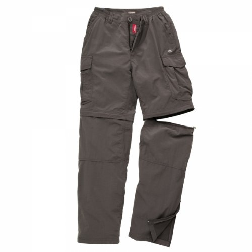 Craghoppers CR016 Polyamide Men's Nosilife Convertible Trousers, 38