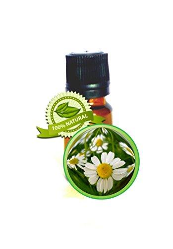 German Chamomile Essential Oil - 100% Pure Matricaria Chamomilla- 10ml (1/3oz)