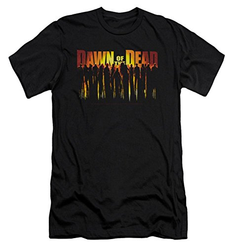 Dawn Of The Dead Walking Dead Slim Fit T-Shirt
