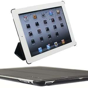 Snugg - Étui pour iPad 2 servant de housse support - Version noire ultramince