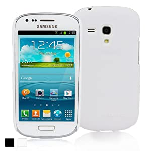 Snugg Samsung Galaxy S3 Mini Ultra Thin Case in White Ð High Quality Slim Profile Non Slip, Protective and Soft to touch for Samsung Galaxy S3 Mini