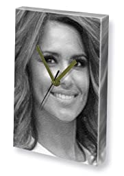 CHERYL COLE - Canvas Clock (LARGE A3 - Signed by the Artist) #js001