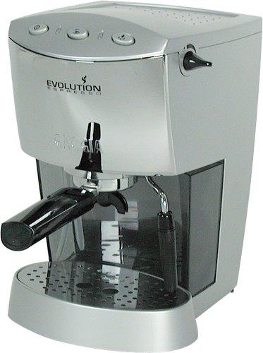 Read About Gaggia 16109 Evolution Semi-Automatic Espresso Machine, Silver and Chrome