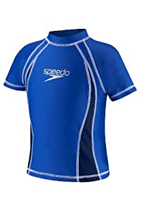 Speedo UV Sun Shirt, Blue, 2T