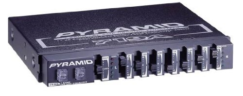Pyramid 719A 7 Band Graphic Equalizer with 12dB Boost