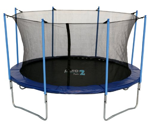 Pure Fun 12' Trampoline and Enclosure Combo