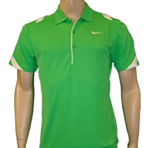 Nike Dri-FIT Velocity Men's Tennis Polo Shirt Green