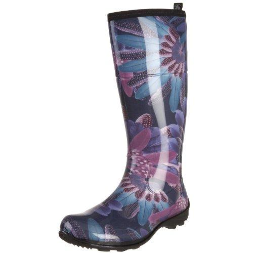 Innovative Twisted Women39s DRIZZY Tall Cute Rubber Rain Boots  ToolFanaticcom