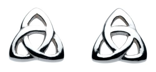 heritage-womens-sterling-silver-celtic-trinity-knot-stud-earrings