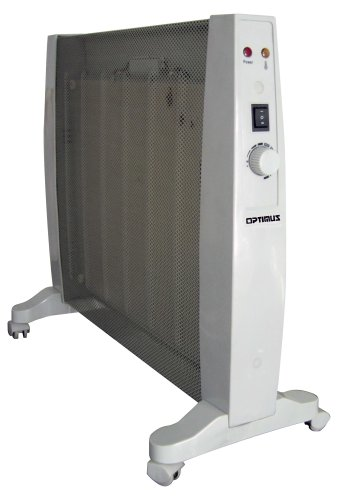 AQITV Optimus H-8408 Portable Micathermic Flat-Panel Heater