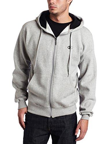 champion-mens-full-zip-eco-fleece-jacket-hoodie-oxford-gray-x-large