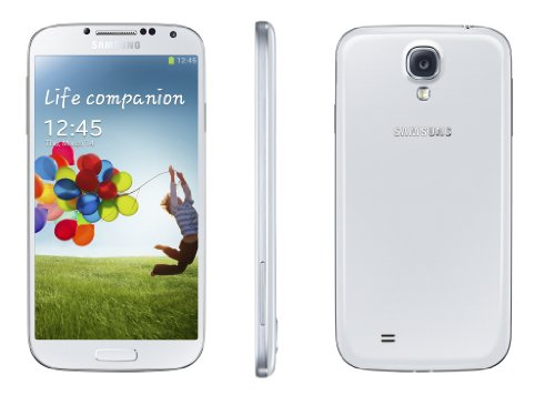Samsung Galaxy S IV/S4 GT-I9500 Factory Unlocked Phone - International Version (White)