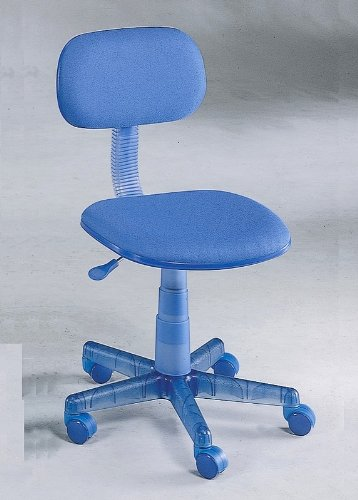 Blue Color Adjustable Home Office Desk Chair with Gas Lift