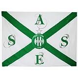 Drapeau officiel - Football AS SAINT ETIENNE - ASSE - Ligue 1 - 140 x 100 cm