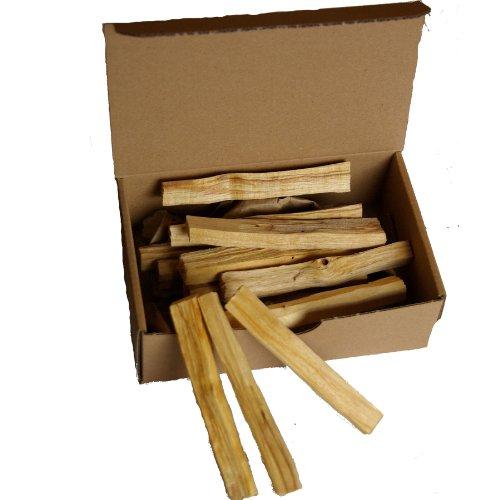 Meditation-Rucherwerk-100gr-Palo-sacred-Santo-Gropack-ca-18-20-feine-Stbe-je-9-10x1x1cm-5-6grStk-Palo-Santo-Holy-Wood-kstlich-duftendes-Heiliges-Holz-nachhaltig-geerntet-aus-Sdamerika
