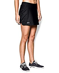 Under Armour Women\'s UA Team Skort Medium Black