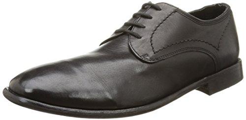 HudsonChiba - Sneaker uomo , Nero (Noir (Calf Black)), 42