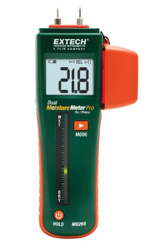 Extech MO265 Combo Pin/Pinless Moisture Meter with RJ45