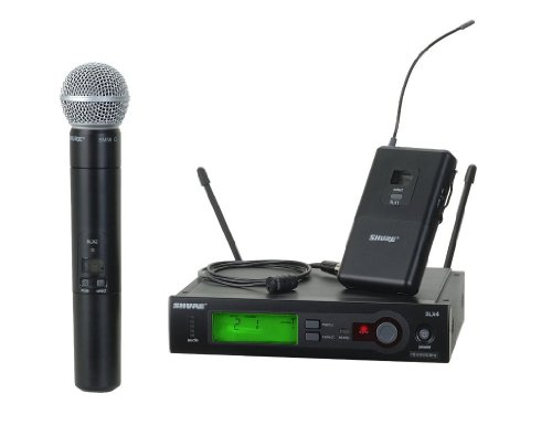 Shure Slx124/85/Sm58 Combo Wireless System, H5