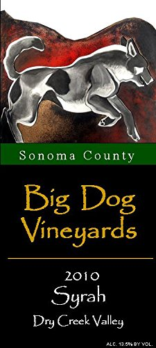 2010 Big Dog Vineyards Dry Valley Creek Syrah 750 Ml