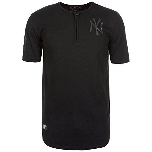 NEW ERA MLB ne96436fa16Remix BB Tee Neyyan-Maglietta maniche corta-línea New York Yankees per uomo, UOMO, Ne96436Fa16 Mlb Remix Bb Tee Neyyan, nero, L