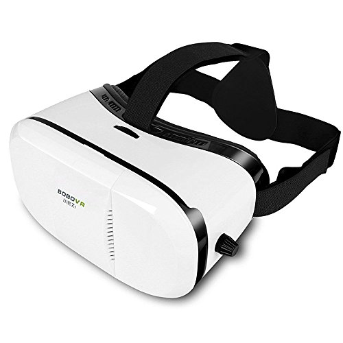 Qmagic BoBo Z3 VR Virtual Reality Headset 3D Glasses VR Box for iphone 4~6 inch Smartphones iPhone 6 6 Plus, Samsung Galaxy S7 S6 edge, Note 5 4 3