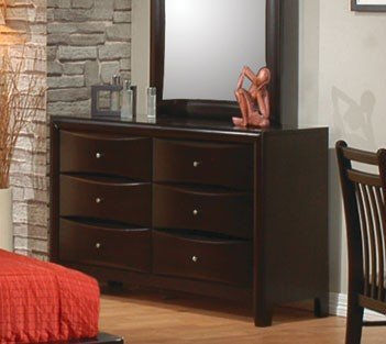 Contemporary Youth 6 Drawer Dresser