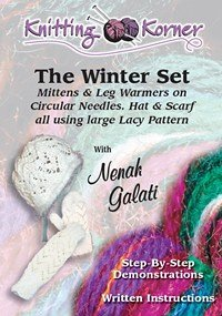 Leg Warmers Knitting Pattern Circular Needles : Amazon.com: Knitting Korner: The Winter Set, Mittens, Leg Warmers on Circular...
