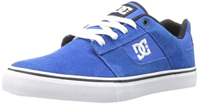 DC Men's Bridge Lace-Up Fashion Sneaker,Blue,10 M US