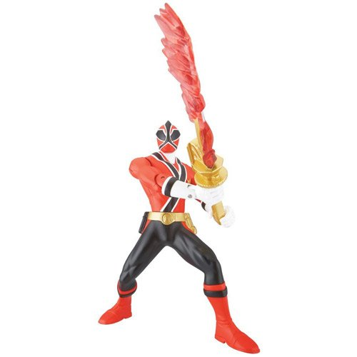 Power Ranger Samurai Sword Morphin Ranger Fire Action Figure - 1