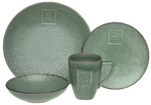 Pfaltzgraff Serenity Sage 4-Piece Place Setting, Service For 1