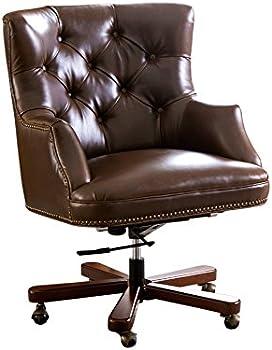 Good Abbyson Living Scarlett Leather Office Chair