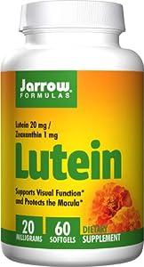 (历史最低)Jarrow Formulas Lutein 20mg贾罗公式叶黄素20mg60粒$8.44