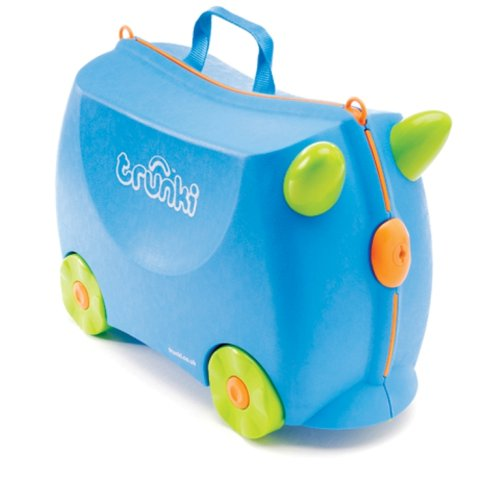 Trunki Terrance Ride-on Suitcase (Blue)