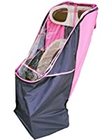 LAKIA(ラキア) 子供乗せ自転車用リア用チャイルドシートレインカバー ピンク  ピンク