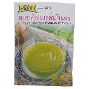 Lobo Thai Custard Dessert Mix Pandan Flavor 120g