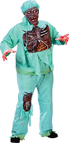 Adult Zombie Doctor Plus Size