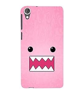 EPICCASE Cutie monster Mobile Back Case Cover For HTC Desire 820 (Designer Case)