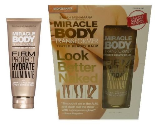 Miracle Body Transformer Tinted Beauty Balm Bronze Shade (Transformer Sun Shade compare prices)