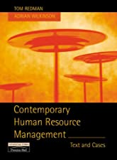 Contemporary Human Resource Management Text and Cases by Redman