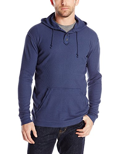 Stanley Men's Washed Thermal Hoody, Blue, X-Large