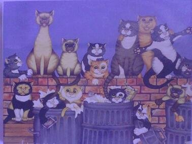 Cats Chorus Puzzle Over 550 Pieces