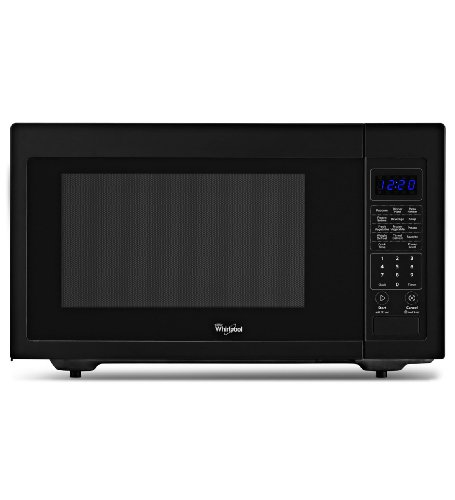 Whirlpool WMC30516AB 1.6 Cu. Ft. Black Countertop Microwave Find Best ...