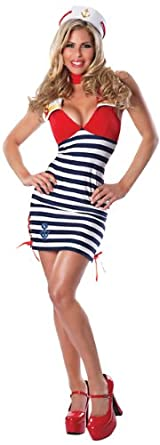 Delicious Women's Sassy Sailor Sexy Costume