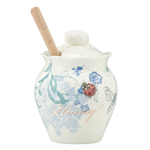 Lenox Collage 10-Ounce Honey Jar, 5-Inch