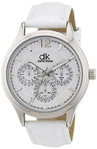 dk daniel khone Damen-Armbanduhr Woman Analog Quarz Kunstleder DKLA-90612-41L